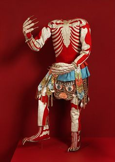 Skeleton dance costume, late 19th or early 20th century, Tibet. Metropolitan Museum of Art, NY. Gift of Mrs. Edward A. Nis, 1934.