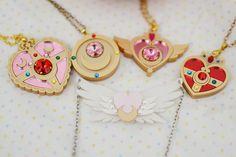 sailor moon necklaces