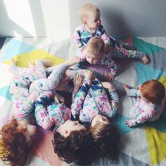 Cheeky pyjama Sunday. chloeandbeans | | WEBSTA - Instagram Analytics