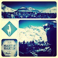 Merci à Xavier pour son feed-back et son montage ! @cauterets After Ski  @npyski @npyevents  #cauterets #ski #sun #snow #npy #M2X #MartinMartin by martin_martin_m2x