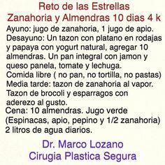 Dieta de zanahoria y almendras Dr. MARCO LOZANO
