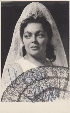 Martha Mödl als Carmen