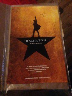 """14""""x 22""""official Hamilton poster"""