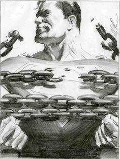 Comic Art Shop :: Sal Abbinanti's Comic Art Shop :: AlEX ROSS -' Milk ad layout tight sketch:: The largest selection of Original Comic Art For Sale On the Internet
