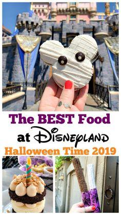 disney halloween - Best Food At Disneyland Halloween Time 2019 - Comida Disneyland, Best Disneyland Food, Disneyland Vacation, Disney Trips, Disneyland Dining, Disneyland Photos, Disney Travel, Disney Vacations, Disneyland Halloween