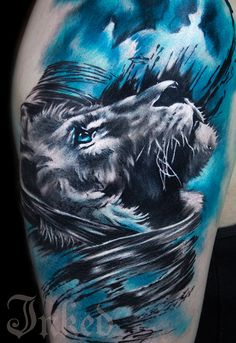 Charles Huurman #InkedMagazine #tattoo #tattoos #art #Inked #ink #Lion
