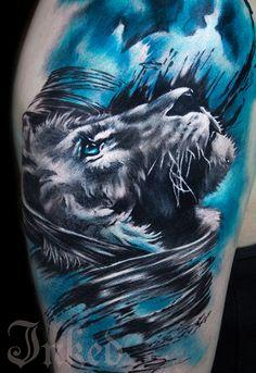 Charles Huurman #InkedMagazine #tattoo #tattoos #art #Inked #ink #Lion