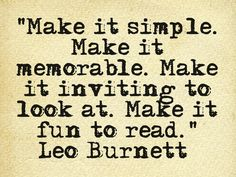 Advertising quote | Leo Burnett | QOTD | writing