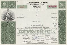 Western Union 200 Shares 1970s image