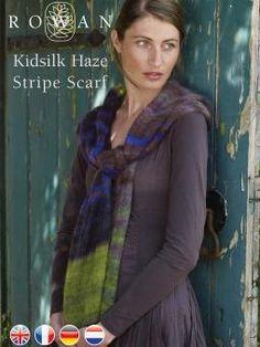 Kidsilk Haze Stripe Scarf
