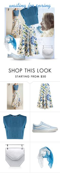 """""""Waiting for spring"""" by gagenna ❤ liked on Polyvore featuring Vans, Prabal Gurung, Nordstrom, women's clothing, women, female, woman, misses, juniors and vans"""