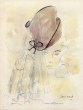 Caroline Reboux (Millinery) 1946 Jean Moral