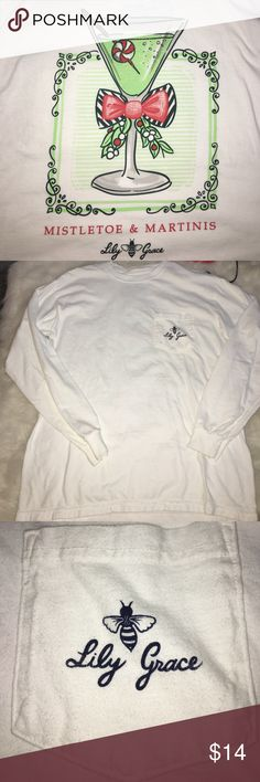 Lily Grace LS Long sleeve lily grace shirt. Got from work uniform but I don't wear it anymore lily grace Tops Tees - Long Sleeve