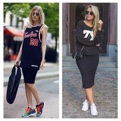 Уличная мода: Уличный стиль лета 2015: модные образы с кроссовками и кедами