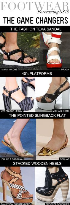 Trend Council:  Footwear Forecasting SS15