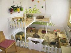 homemade guinea pig cage - Google Search