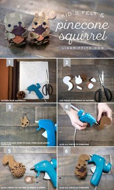 Felt_Squirrel_Pinecone_Tutorial: