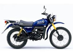 I'm hankering for a small trail bike. Like this  Suzuki. Hints of Honda Baja about it.