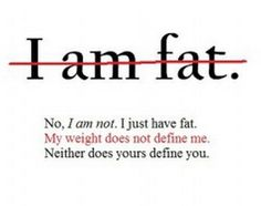A VERY powerful article about self body image.... ABSOLUTE READ FOR ANY WOMAN - The Emotional Warehousing of Fat.