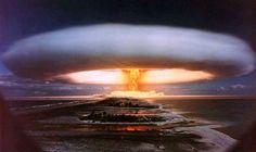 Tsar bomb Test 30th October 1961 50 mega ton