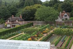 West Dean walled kitchen garden - this is a fabulous garden.  If you're in England and have the chance to visit, please do.