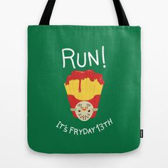 "Tote Bag / 16"" x 16"" AnishaCreations (anishacreations) Bloody Fryday! by AnishaCreations $22.00"