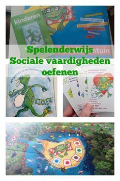 Spelenederwijs sociale vaardigheden oefenen met Coole Kikker - Mamaliefde.nl