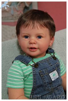 Custom Order for Reborn Katie Marie Toddler Boy Doll