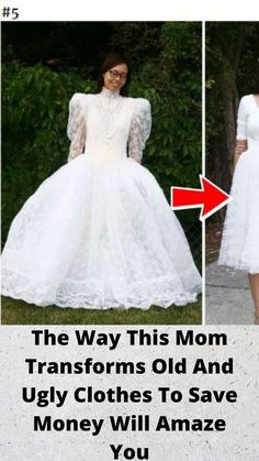 The Way This Mom #Transforms Old And #Ugly #Clothes To Save #Money Will Amaze You