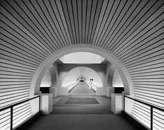 Corridor of the Detroit Receiving Hospital (Detroit, MI, 1979)  William Kesser and Associates