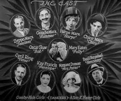 THE COCOANUTS (1929) The first film with four of the Marx Brother's