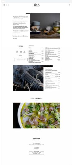 Pescado Fish Restaurant by Alex Leibo Web Design, Layout Design, Restaurant Website, User Interface, Presentation, Fish, Restaurant Branding, Layouts, Identity