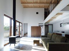 Higashi House in Sendai Japan via Arch Daily
