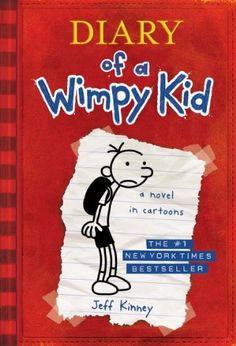 Diary of a Wimpy Kid, Book 1 by Jeff Kinney, http://www.amazon.com/dp/B005CRQ4OW/ref=cm_sw_r_pi_dp_2hAfsb19ZMTQG