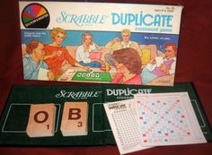 "Scrabble - 1982 Limited Edition ""Duplicate"" version"