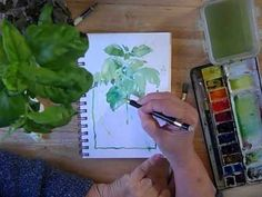 Watercolor Sketching - Part 1 BONUS VIDEO - with Cathy Johnson