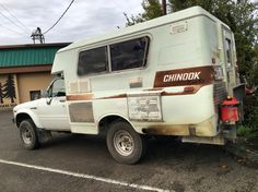 4wd Toyota Chinook conversion