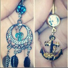 Cute bellybutton rings