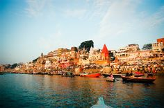Varanasi, also known as Kashi or Banaras is a city on the banks of the Ganges.