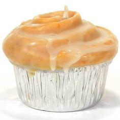 Cinnamon Bun Muffin Shaped Candle
