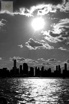 'a black and white chicago' photo :)
