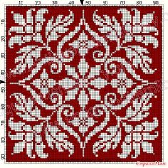 ru / Фото - Le Filet Ancien au Point de Reprise V - gabbach Cross Stitch Needles, Cross Stitch Samplers, Cross Stitch Charts, Cross Stitch Designs, Cross Stitching, Cross Stitch Embroidery, Embroidery Patterns, Cross Stitch Patterns, Knitting Charts