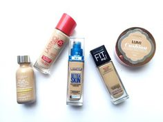 top drugstore foundations for dry skin