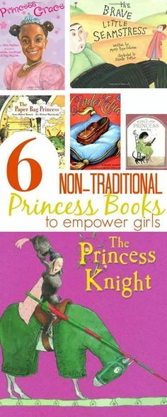Non traditional Princess Books