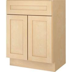 Bathroom-Vanity-Base-Cabinet-Natural-Maple-Shaker-24-Wide-x-18-Deep-New  ebay  129$