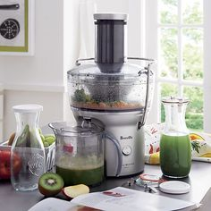 Breville® Compact Juice Extractor | Crate and Barrel