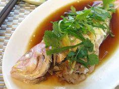 【お家で簡単中華】広東風 魚の姿蒸しの画像