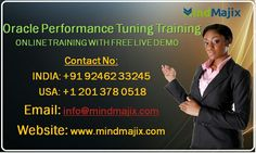 Oracle Performance Tuning Online Training : Free Demo Class @mindmajix.com  course link: www.mindmajix.com/oracle-performance-tuning-training  #oracle #performance #tuning #training #online #tech #education #course #class #free #demo