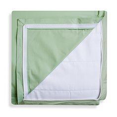 Clouds and Stars™  QuickZip® Zipper Base and Zipper Sheet Set in White