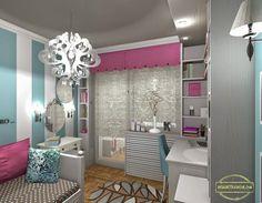 [design]: Little Girl's Bedroom e-Design E Design, Girls Bedroom, Little Girls, This Is Us, Vanity, House, Furniture, Home Decor, Style